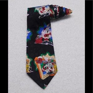 Addiction Looney Tunes Christmas Bugs Bunny Tie